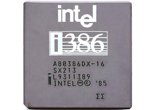 Processeur Intel 80386