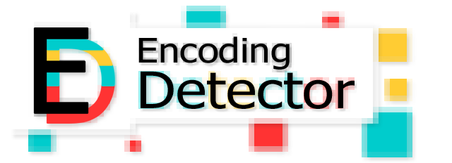 Logo de l'application Encoding Detector
