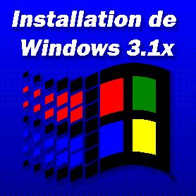 Installation de Windows 3.1