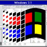 Le lecteur de CD avec Windows3.1