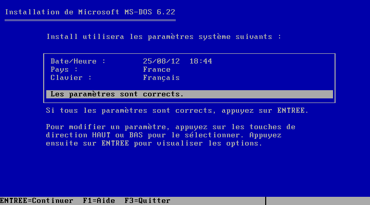 Ms dos dans un ordinateur virtuel wolfaryx informatique for Fenetre dos windows 8