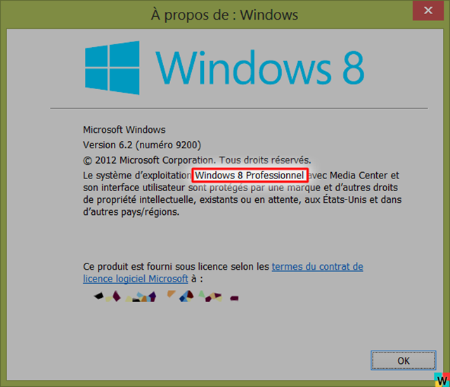 Winver-sur-Windows-8