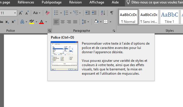 Thème bleu de Windows XP dans Office