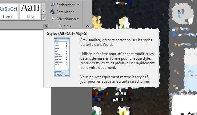 Autre thème de Windows XP dans Office